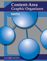 Digital Download Content-Area  Graphic Organizers: Math - PDF Download [Download]