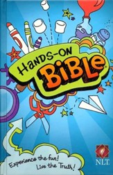 NLT Hands-On Bible, Hardcover
