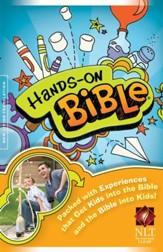 NLT Hands-On Bible, Hardcover - Slightly Imperfect