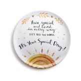 You're Special Giving Plate