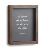 We Will Serve The Lord, Wall Art