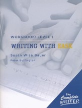 Writing with Ease - Level One, Workbook