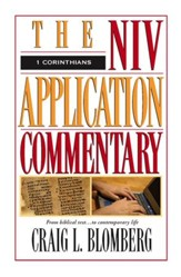 1 Corinthians: NIV Application Commentary [NIVAC] -eBook