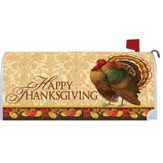 Happy Thanksgiving, Turkey, Mailbox Cover