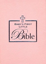 Baby Girl's First Little Bible, Pink