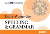 Digital Download Daily Warm-Ups: Spelling and Grammar Level I - PDF Download [Download]