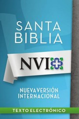 NVI Santa Biblia black letter - eBook