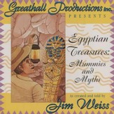 Egyptian Treasures: Mummies and  Myths - Audiobook on CD
