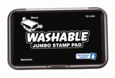 Black Jumbo Washable Stamp Pad