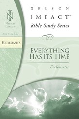 Nelson Impact Study Guide: Ecclesiastes - eBook