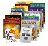 Abeka Grade 3 Homeschool Bible Curriculum Materials Kit