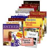 Abeka Grade 6 Homeschool Bible  Curriculum Materials Kit