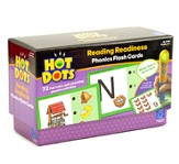 Hot Dots Phonics Flash Cards, Set 1: Reading Readiness