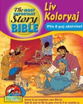 Coloring and Activity Book, Volume 3: From the Birth of Jesus to  The Resurrection - Creole edition