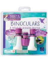 Nancy B's Science Club: Binoculars &  Wildlife Activity Journal