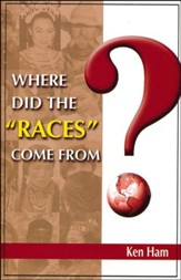 Where Did the Races Come From? Booklet