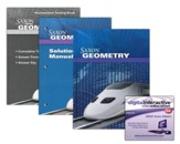 Saxon Geometry Kit & DIVE CD-Rom, 1st Edition