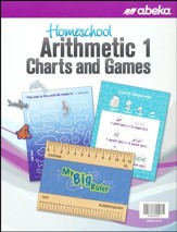 Abeka Homeschool Arithmetic 1 Charts and Games (New Edition)