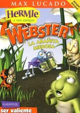 La Arañita Miedosa, DVD (Webster, the Scaredy Spider, DVD)