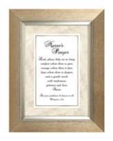 A Nurse's Prayer, Philippians 4:5 , framed Print, 7X9