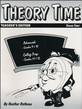 Theory Time for Grades 9-12 Teacher's Edition