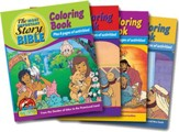 Most Important Story Coloring Book - volumes 1-4