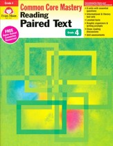 Reading Paired Text: Lessons for Common Core Mastery, Grade 4