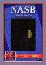 NASB Compact Bible, Bonded Leather Black