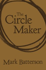 The Circle Maker--soft leather-look, brown