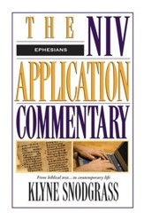 Ephesians: NIV Application Commentary [NIVAC] -eBook
