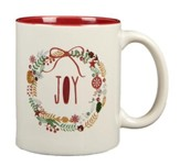 Joy Wreath Mug