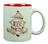 Believe Wreath Mug