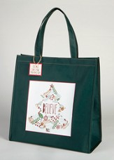 Believe Wreath Tote Bag