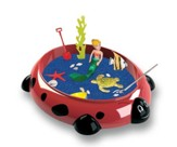 Ladybug Sandbox Critters Small Playset, 10.5 x 8.5 x 2