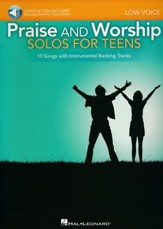 Praise and Worship Solos for Teens (Low Voice)