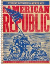 BJU Heritage Studies: The American  Republic Student Activity   Manual, Teacher's Edition (Third Edition)