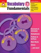 Vocabulary Fundamentals, Grade 3
