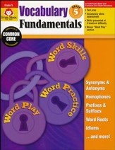 Vocabulary Fundamentals, Grade 5