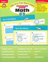 Take It to Your Seat Centers: Common Core Math, Grade 3