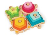 Turtles Stacking, Sorting Puzzle