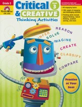 Critical and Creative Thinking  Activities, Grade 3