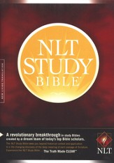 NLT Study Bible, Hardcover - Slightly Imperfect