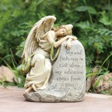 Sleeping Angel Garden Stone