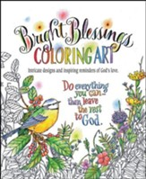Bright Blessings Coloring Art