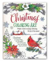 Christmas Coloring Art Book