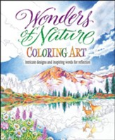Wonders of Nature Coloring Art