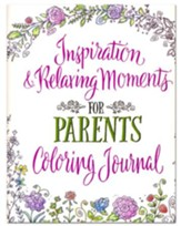 Inspiration & Relaxing Moments for Parents Journal Coloring Art