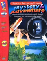 Mystery & Adventure Literacy Response Forms, Grades 4-6