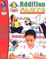 Timed Addition Facts, Grades 1-3