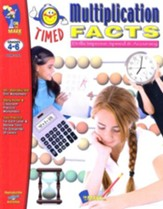 Timed Multiplication Facts, Grades  4-6